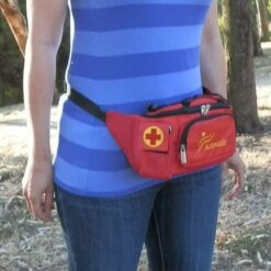 Activeaide-Red-Insulated-Medical-Waist-Bag-epipen-Schools