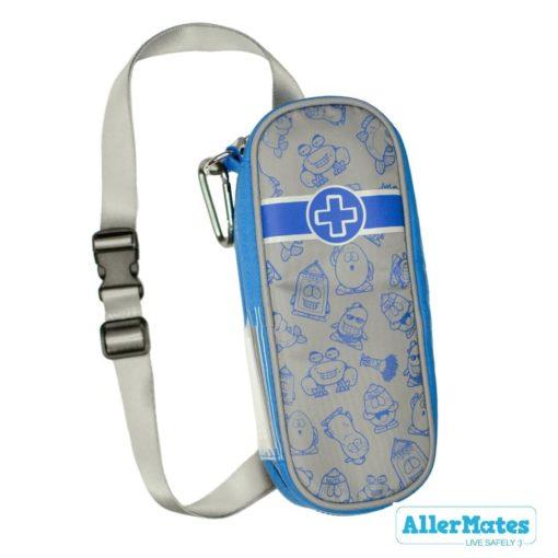 Allermates Kids EpiPen case Blue