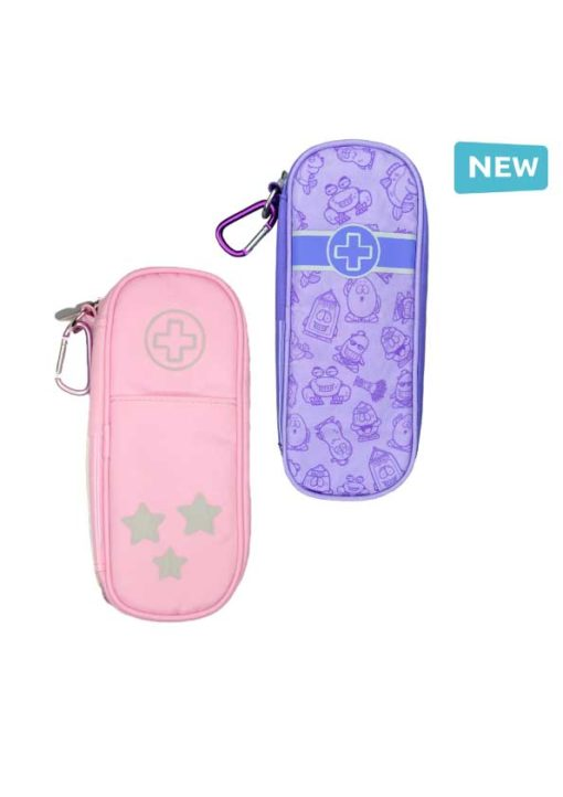 EpiPen Case for Kids lilac-and-pink