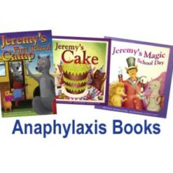 Jeremy's anaphylaxis book
