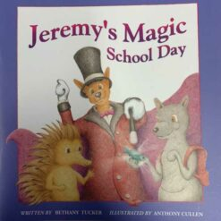 Jeremy's Allergy Books-Magic School Day food allergy book