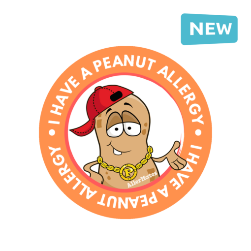 Peanut Allergy Sticker