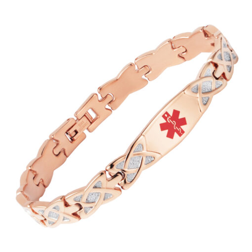Rose Gold Medical Bracelet