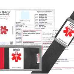 MediPal Seat Belt ID and Insert