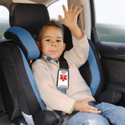 MediPal Seatbelt ID Car