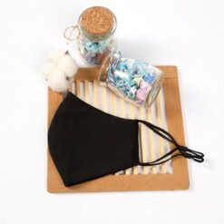 Reusable Face Covering Black
