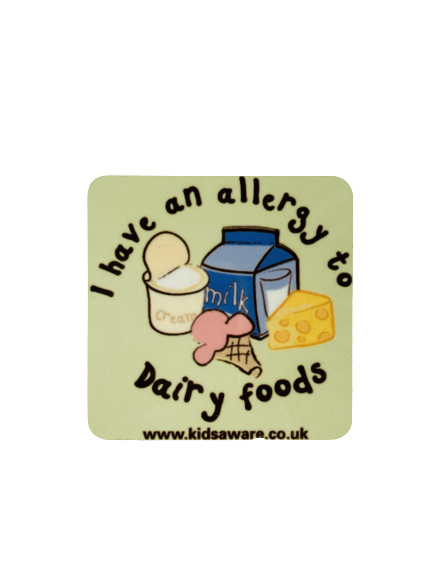 Dairy Allergy Magnets