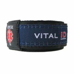 Medical ID Wristband - Navy Blue