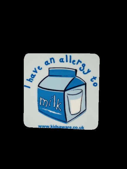 Milk Allergy Magnets