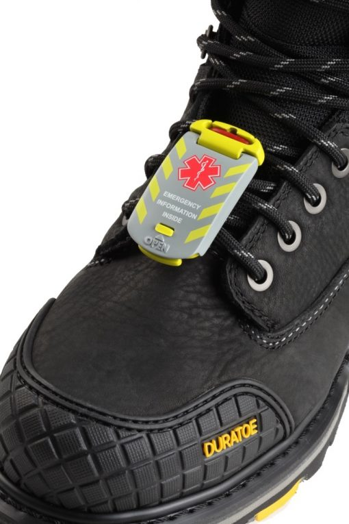 Universal Fit – Emergency Medical ID on shoes