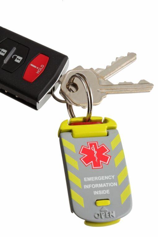 Universal Fit – Emergency Medical ID on keys